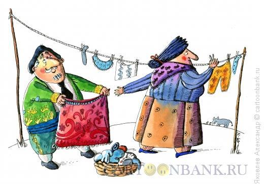 Карикатура: Тореро на пенсии, Яковлев Александр