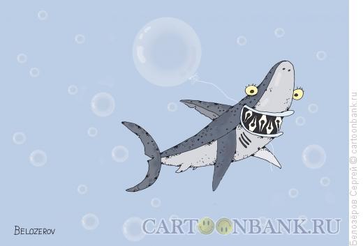 Карикатура: Акула пера, Белозёров Сергей