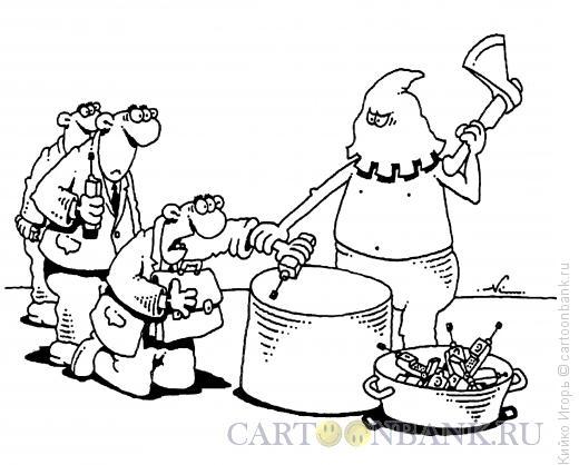 Карикатура: Жестокое наказание, Кийко Игорь