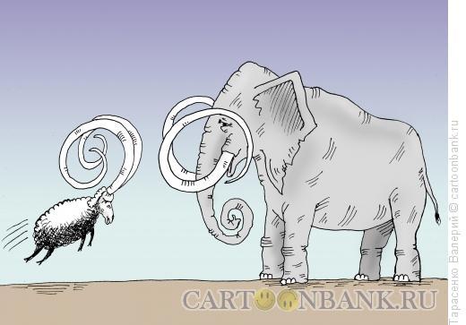 Карикатура: Противостояние, Тарасенко Валерий
