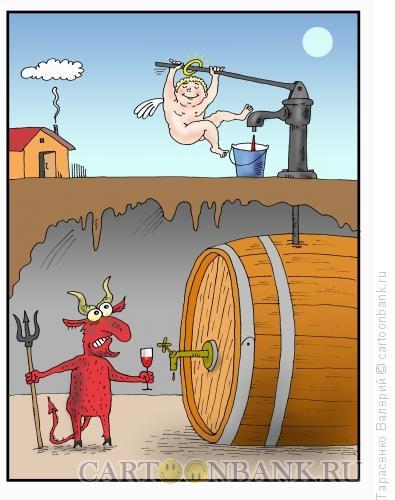 Карикатура: Качок, Тарасенко Валерий