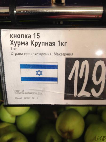 Мем: Македония vs Израиль, ФедАндрей