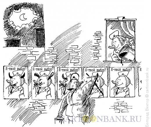 Карикатура: Предвыборная борьба, Богорад Виктор