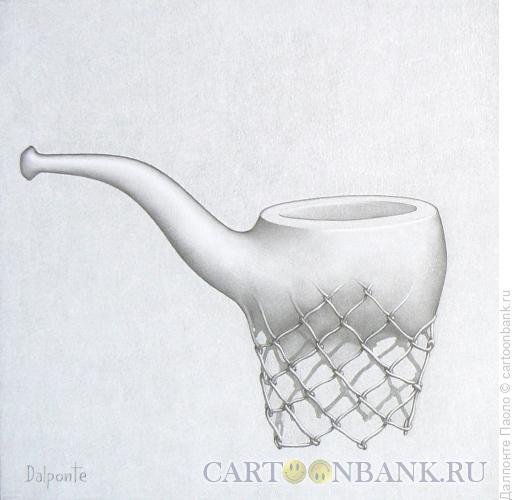 Карикатура: трубка-корзина, Далпонте Паоло