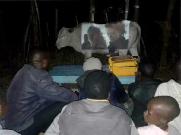 Мем: Африканский кинотеатр, lugy