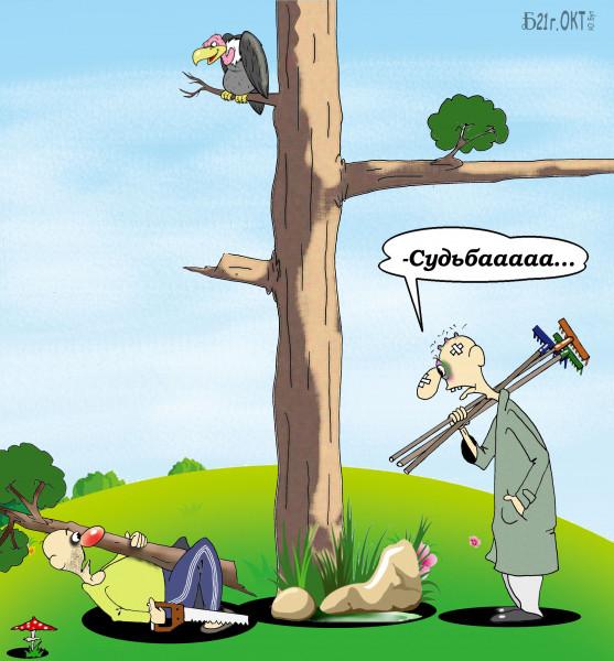 Карикатура: Про мудрость., БАД