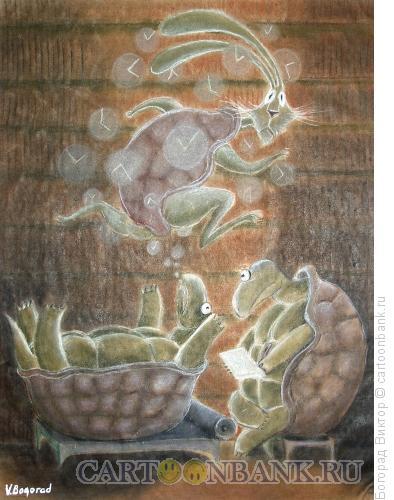 Карикатура: Сеанс у психоаналитика, Богорад Виктор