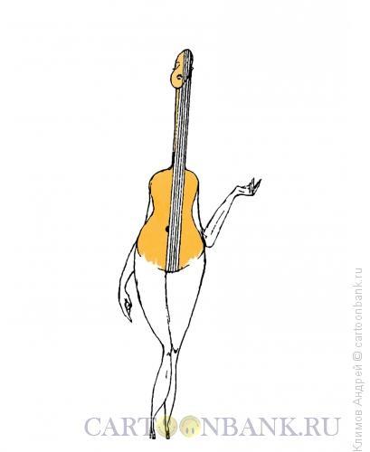 Карикатура: Струны, Климов Андрей