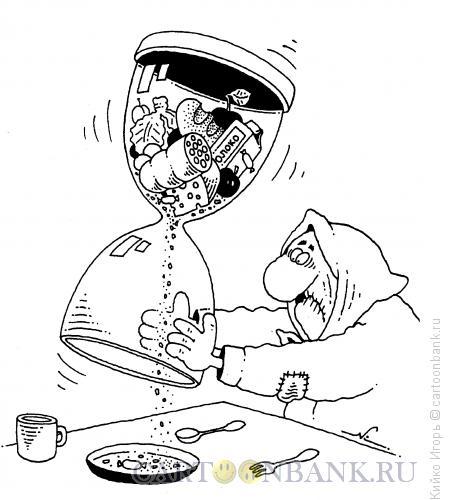 Карикатура: Крохи, крохи, Кийко Игорь