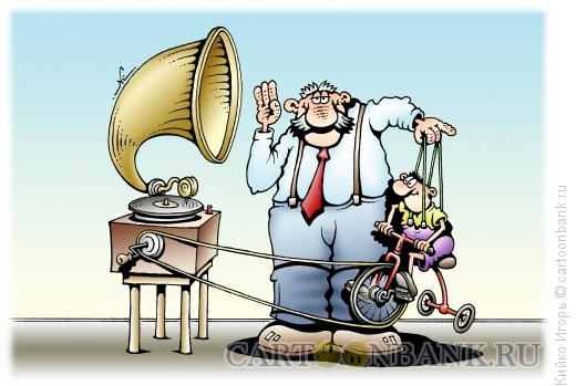 Карикатура: Граммофон, Кийко Игорь