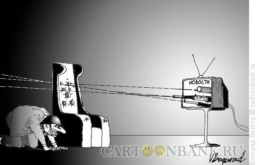 Карикатура: Теленовости, Богорад Виктор