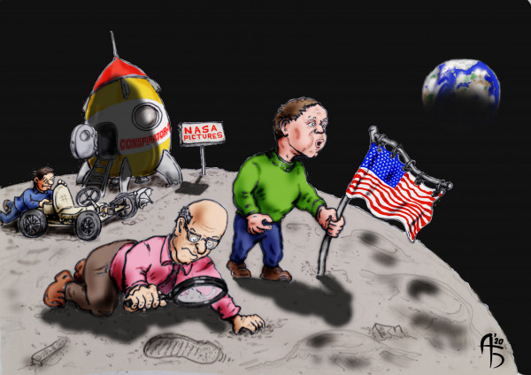 Карикатура: Проверка, backdanov