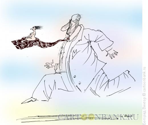 Карикатура: Женщина рулит!, Богорад Виктор