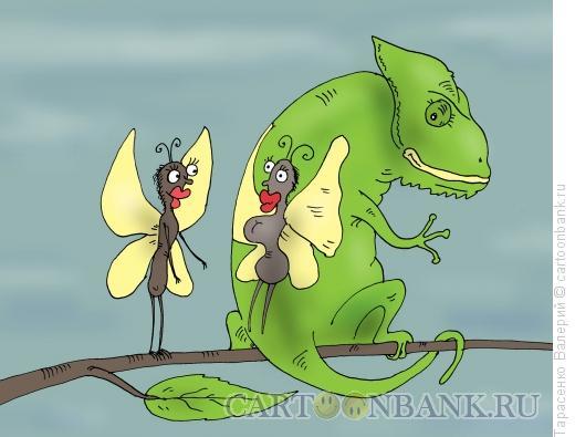 Карикатура: Приманка, Тарасенко Валерий