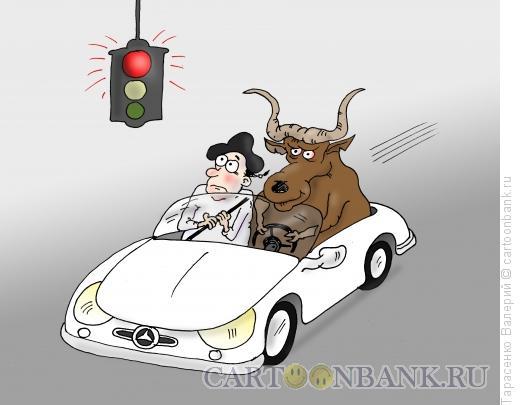 Карикатура: Лихач, Тарасенко Валерий