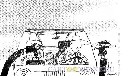 Карикатура: Барсеточники, Богорад Виктор