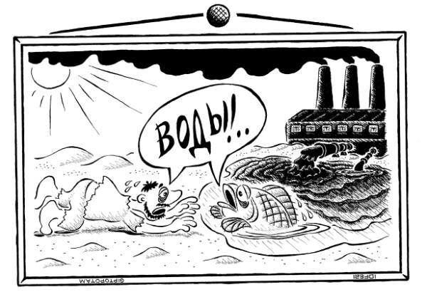 Карикатура: Не плюй в кол...лоид, Giptopotam
