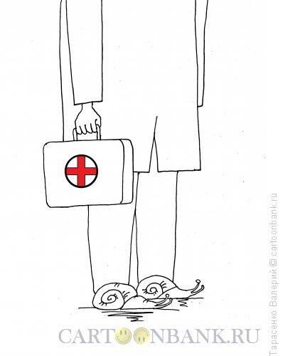 Карикатура: Скороход в кавычках, Тарасенко Валерий