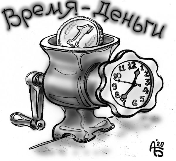 Карикатура: Всё в наших руках, backdanov