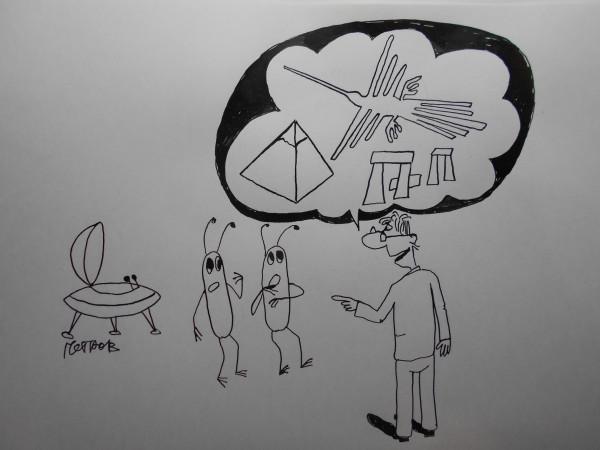 Карикатура: Инопаланетяне, Петров Александр