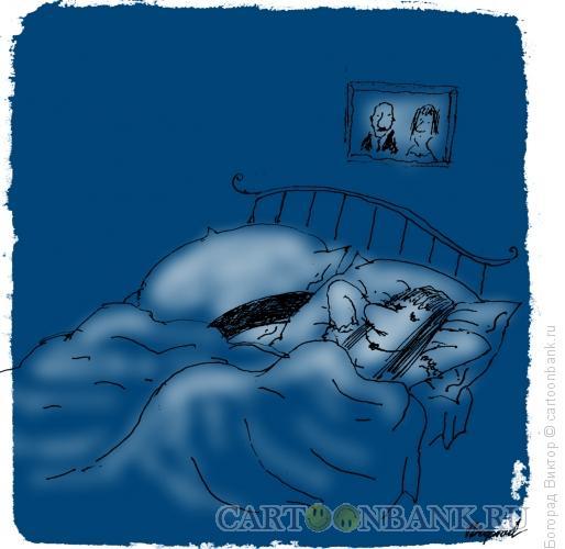Карикатура: Веселая вдова, Богорад Виктор