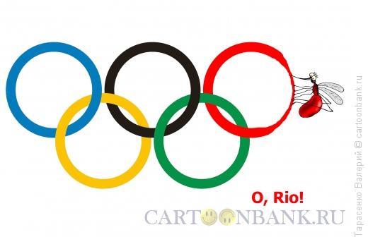 Карикатура: О, Рио!, Тарасенко Валерий
