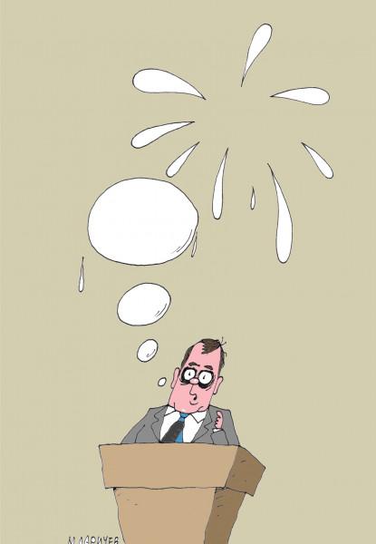 Карикатура: Слово, Михаил Ларичев