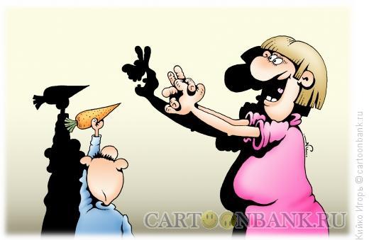Карикатура: Теневая игрушка, Кийко Игорь