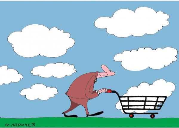 Карикатура: Продано, Михаил Ларичев