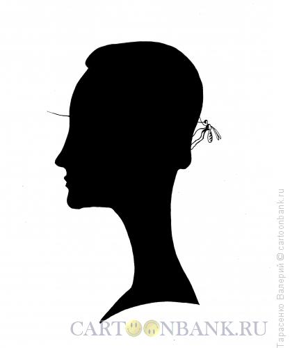Карикатура: Комариный укус, Тарасенко Валерий
