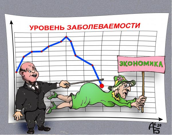 Карикатура: Выход из кризиса, backdanov