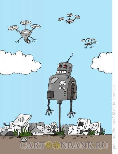 Карикатура: Будущее наступило, Тарасенко Валерий