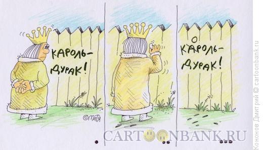 Карикатура: король-дурак, Кононов Дмитрий