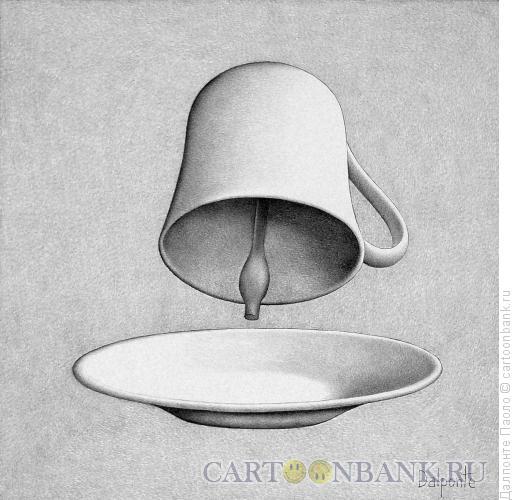 Карикатура: чашка-колокол, Далпонте Паоло