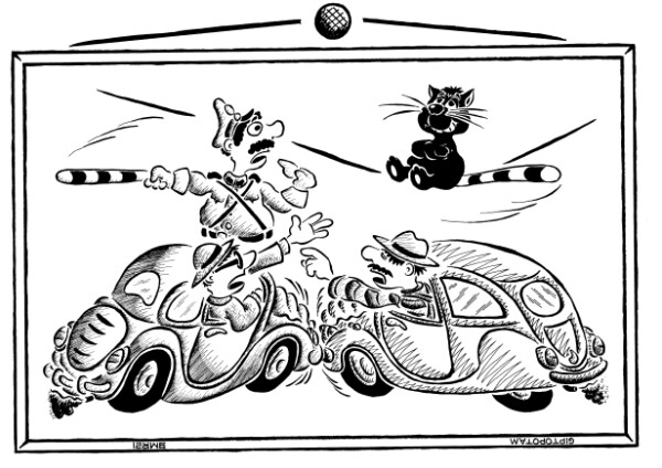 Карикатура: Ни рыба ни мя...у, Giptopotam