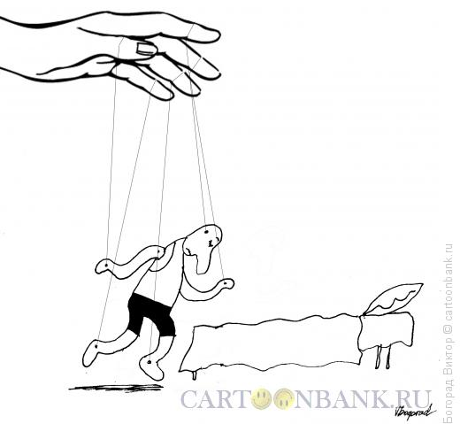 Карикатура: Ко сну, Богорад Виктор