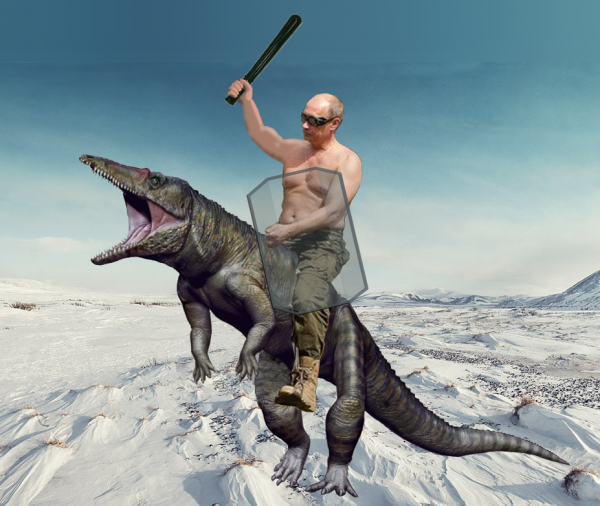 Мем: Парадный портрет Путина, Патрук