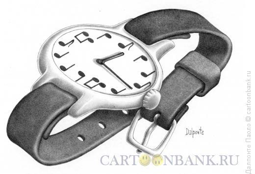 Карикатура: Время и музыка, Далпонте Паоло