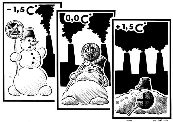 Карикатура: Жертва экоцида, Giptopotam