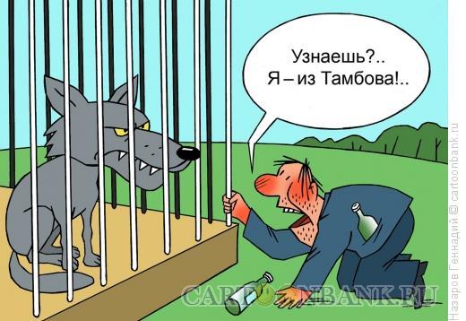 Карикатура: Тамбовский волк, Назаров Геннадий