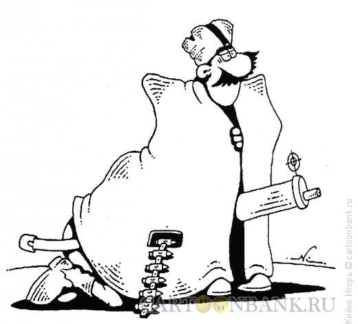 Карикатура: Боевая аналогия, Кийко Игорь