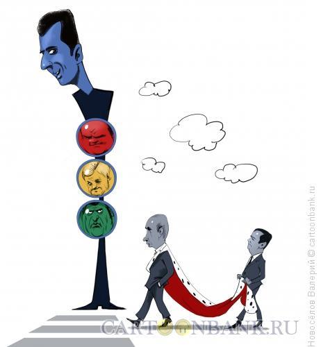 Карикатура: правила движения, Новосёлов Валерий