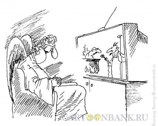 Карикатура: Увлекательная программа, Богорад Виктор