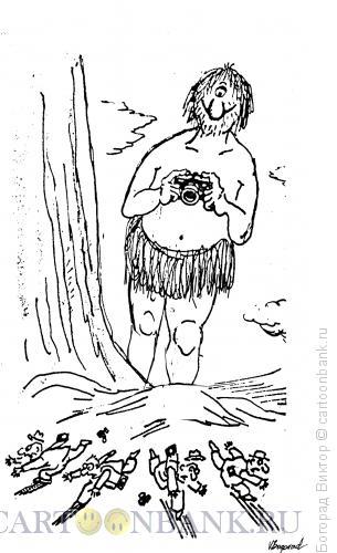 Карикатура: Циклоп, Богорад Виктор