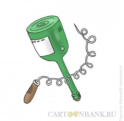 Карикатура: Герболоид русского инженера, Тарасенко Валерий