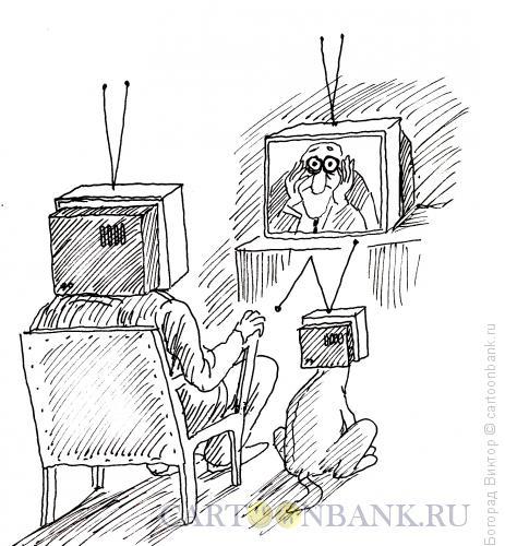 Карикатура: Головоящики, Богорад Виктор
