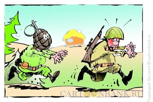 Карикатура: Ужасы войны, Подвицкий Виталий
