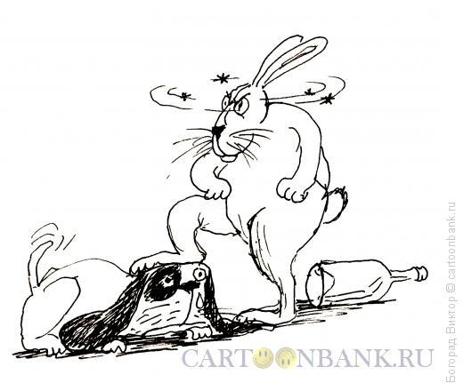 Карикатура: Пьяным море по колено, Богорад Виктор
