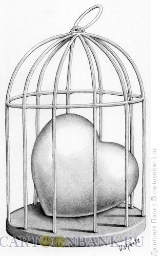 Карикатура: Одинокое сердце, Далпонте Паоло