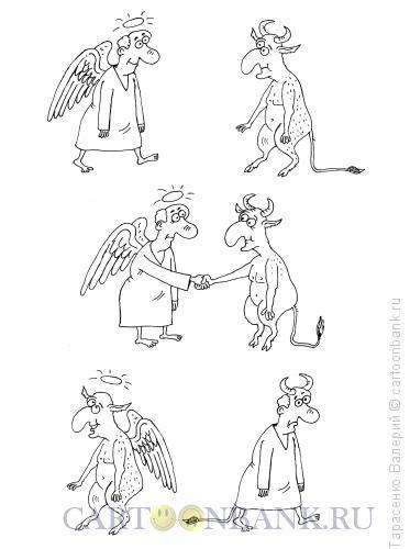Карикатура: Бартер, Тарасенко Валерий